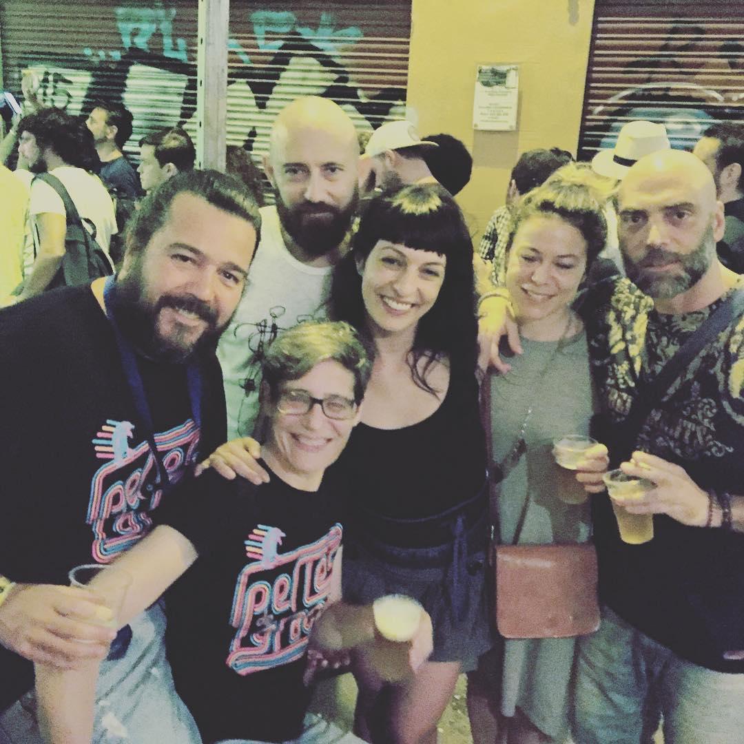 Con @perlesdegracia la fiesta es #lomás ;))