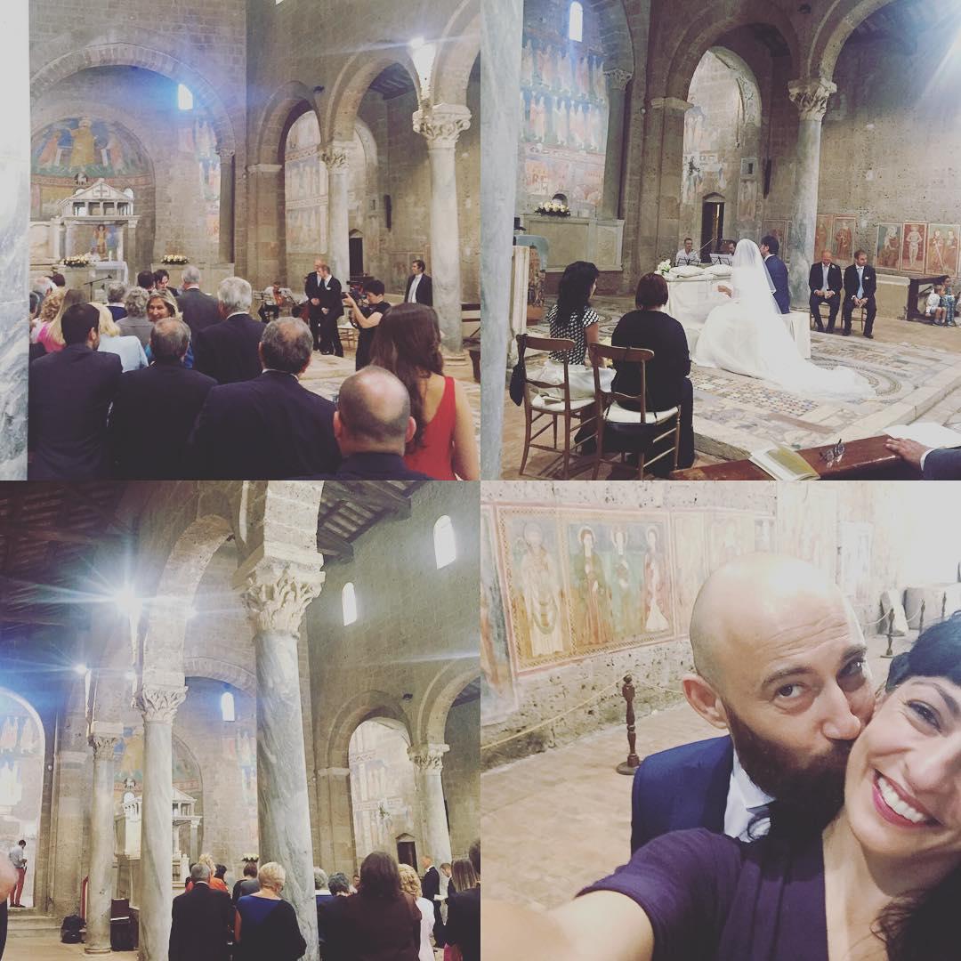 Fabio ed Alessandra si sono sposati ;))