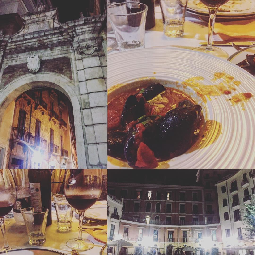 Estoy disfrutando mucho esta cena en la Osteria Angolo Masuccio!