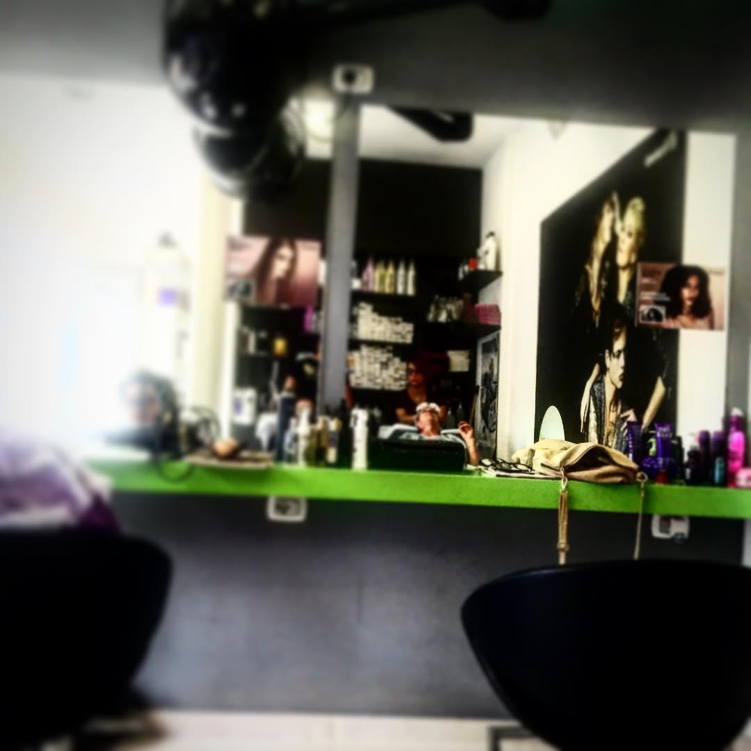 Momento #latuabellezza ;)) Voy a cortarme el pelo en #salerno