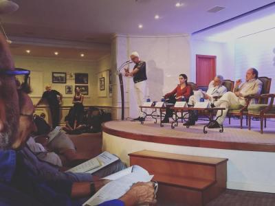 Espectacular última sesión #ConversesFormentor2016 gracias a la #FundacionSantillana @barcelohotelsresorts @elpaiscultural @GrupoPRisa #conversesformentor #mallorca #formentor #escritores
