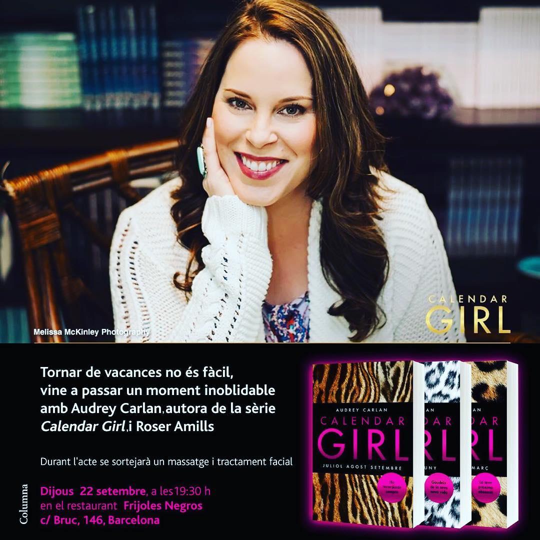 Jueves 22, 19:30h, tenemos una cita #calendargirl con muchas sorpresas !!!