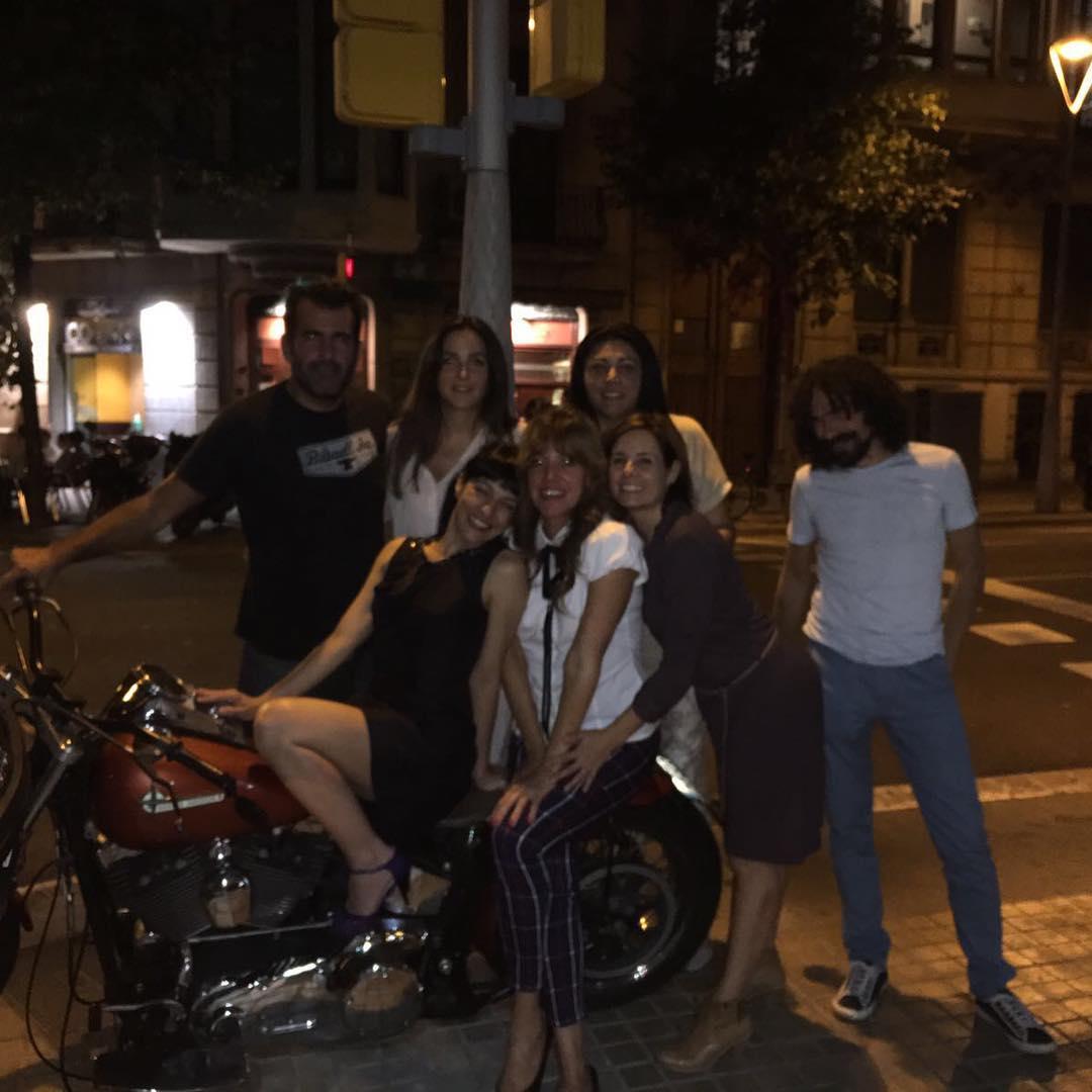 En la moto de @bancodepruebas con equipo @lanit31416
