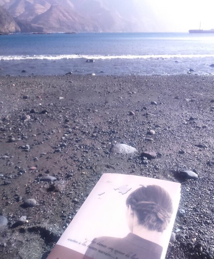 Me hace muy feliz esta foto de @marvegas22 disfrutando con #labachillera en Canarias!