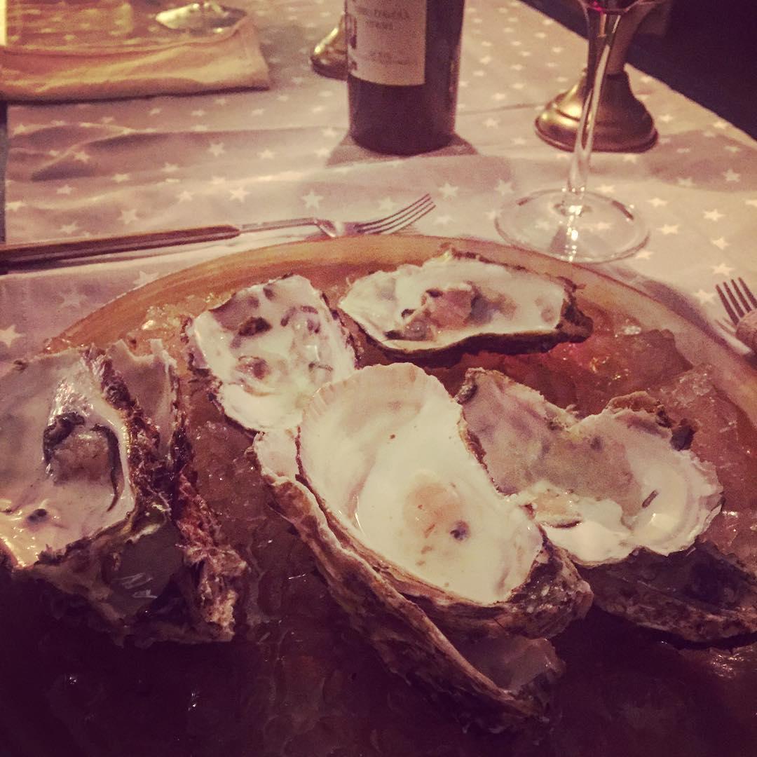 Y resulta que @marco_blued no sólo las ha elegido, también ha abierto las #ostras ;))
