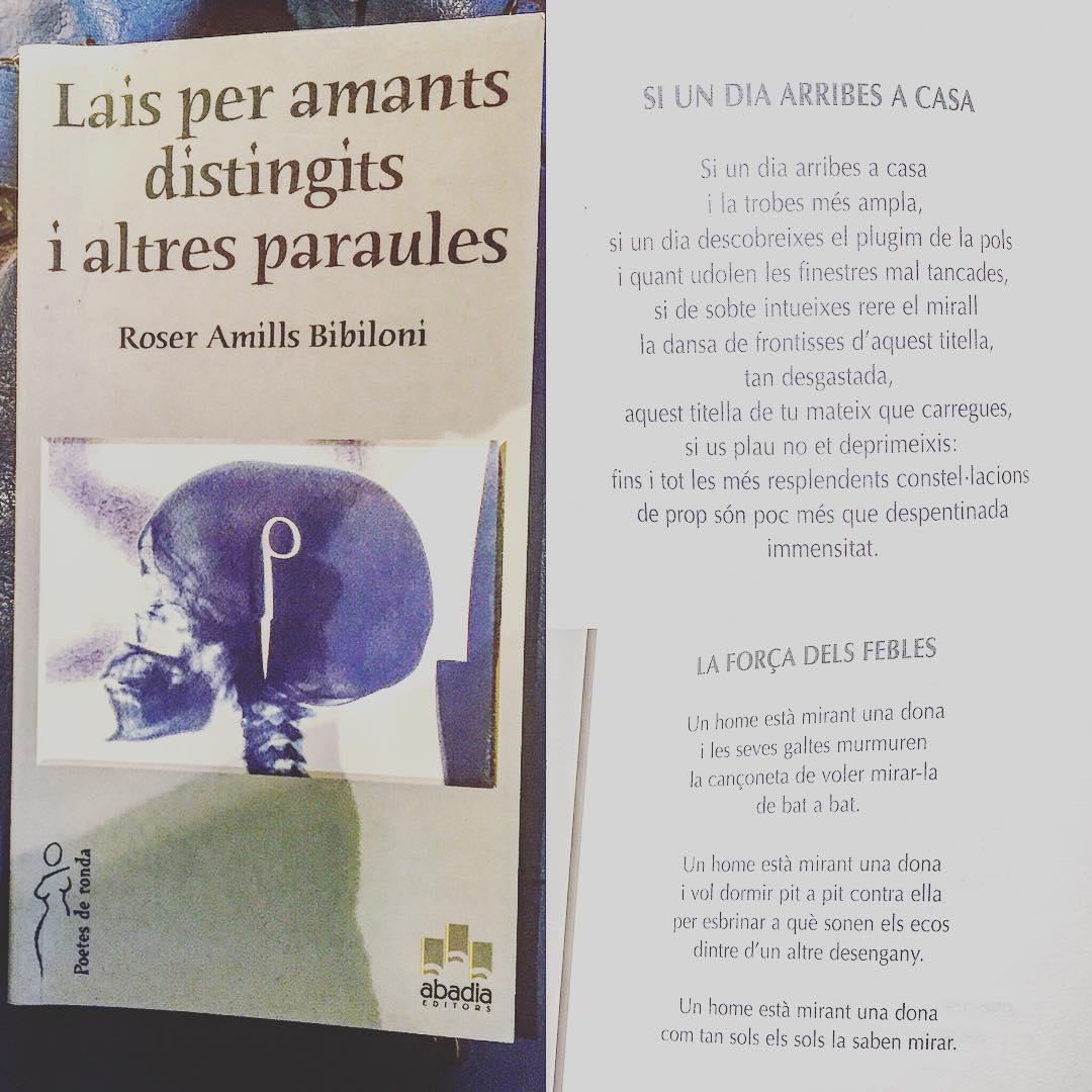 Bona tarda amb uns poemes de #laisperamantsdistingits (Abadia, 2004) #poetry #poem #poet #poetsofinstagram #barcelona #writersofinstagram #writing #poetsofig #writer #mallorquina #poetrycommunity #poems #wordporn #writersofig #words #instapoet #typewriter #prose #poets #creativewriting #instapoem #writers #write #writerscommunity #instapoetry #writingcommunity #poetryisnotdead #igpoets