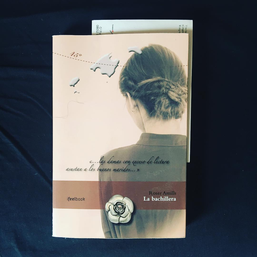 Gracias María por ponerte a leer #labachillera hoy, espero que la disfrutes mucho!!!
