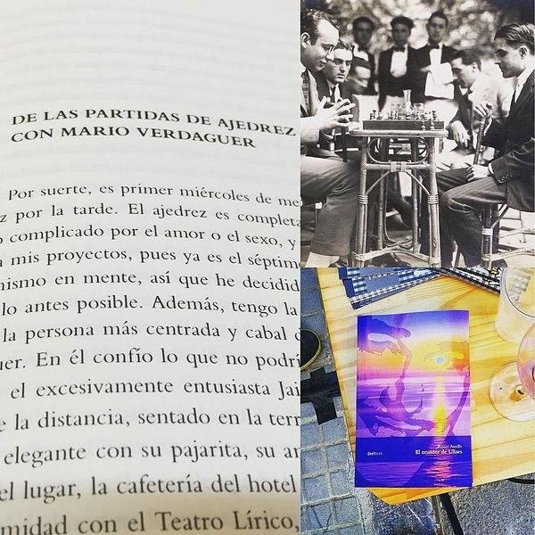 Sabes quién era Mario Verdaguer? En mi novela #elecuadordeUlises también sale #MarioVerdaguer ;))
