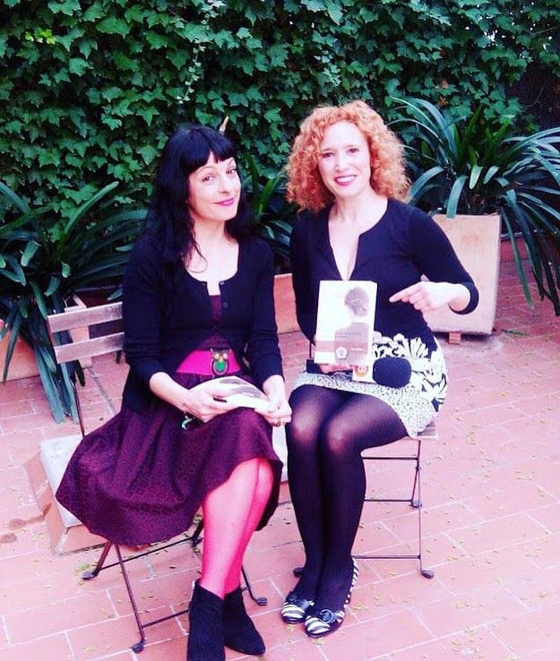 Me entrevista Alicia G Escribano para Barcelonautes de 25TV para hablar de mis novelas