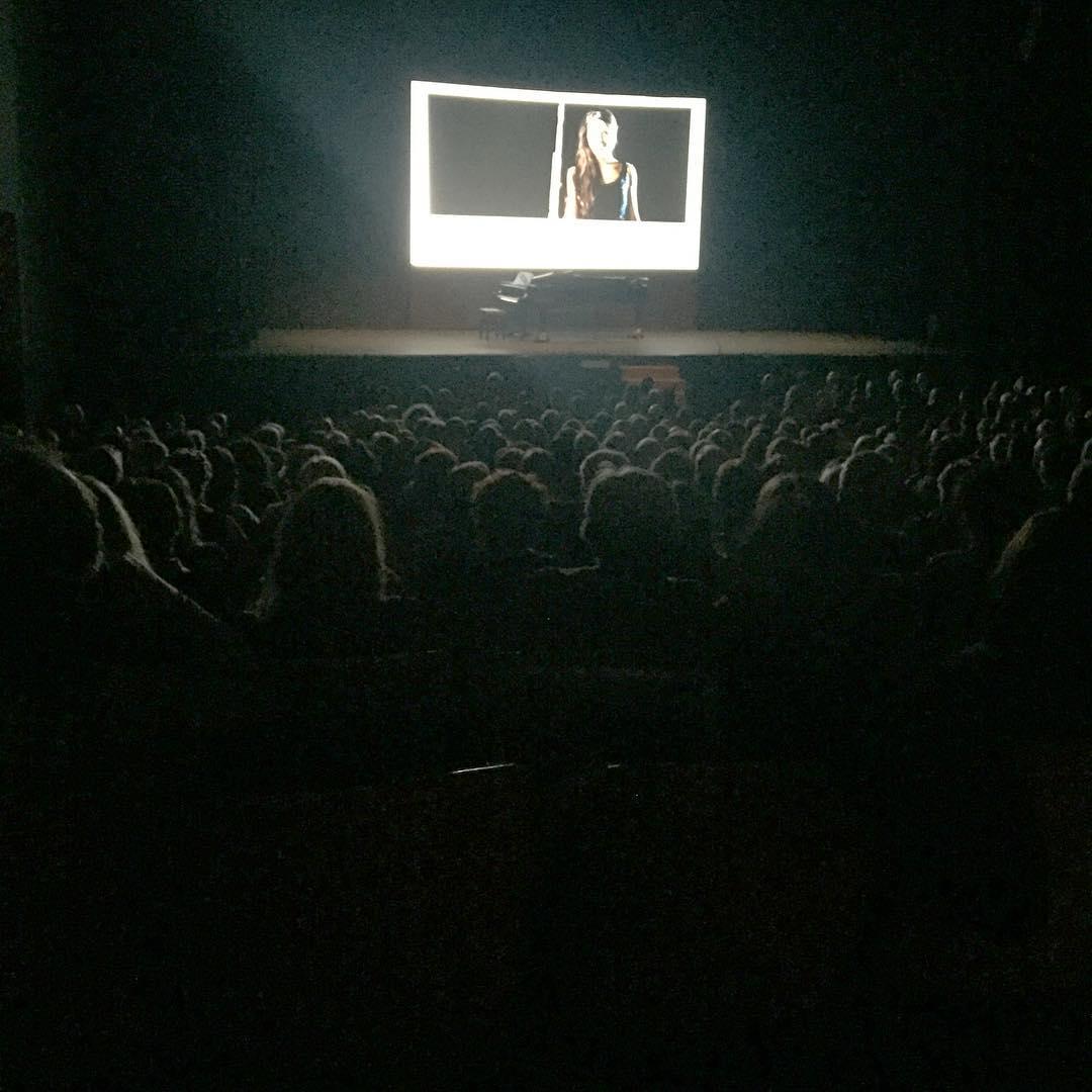 Fa goig la #PresentacioTa al @teatreauditori @PTugues !! I meravellosa la teva selecció #cultura
