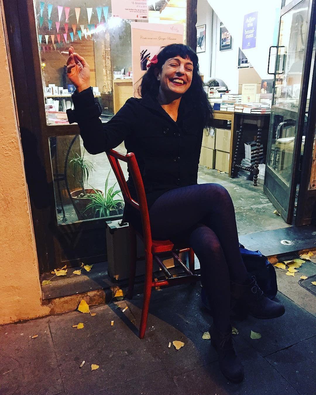 La silla de Xavier Giol @giolabril hace amigos :))