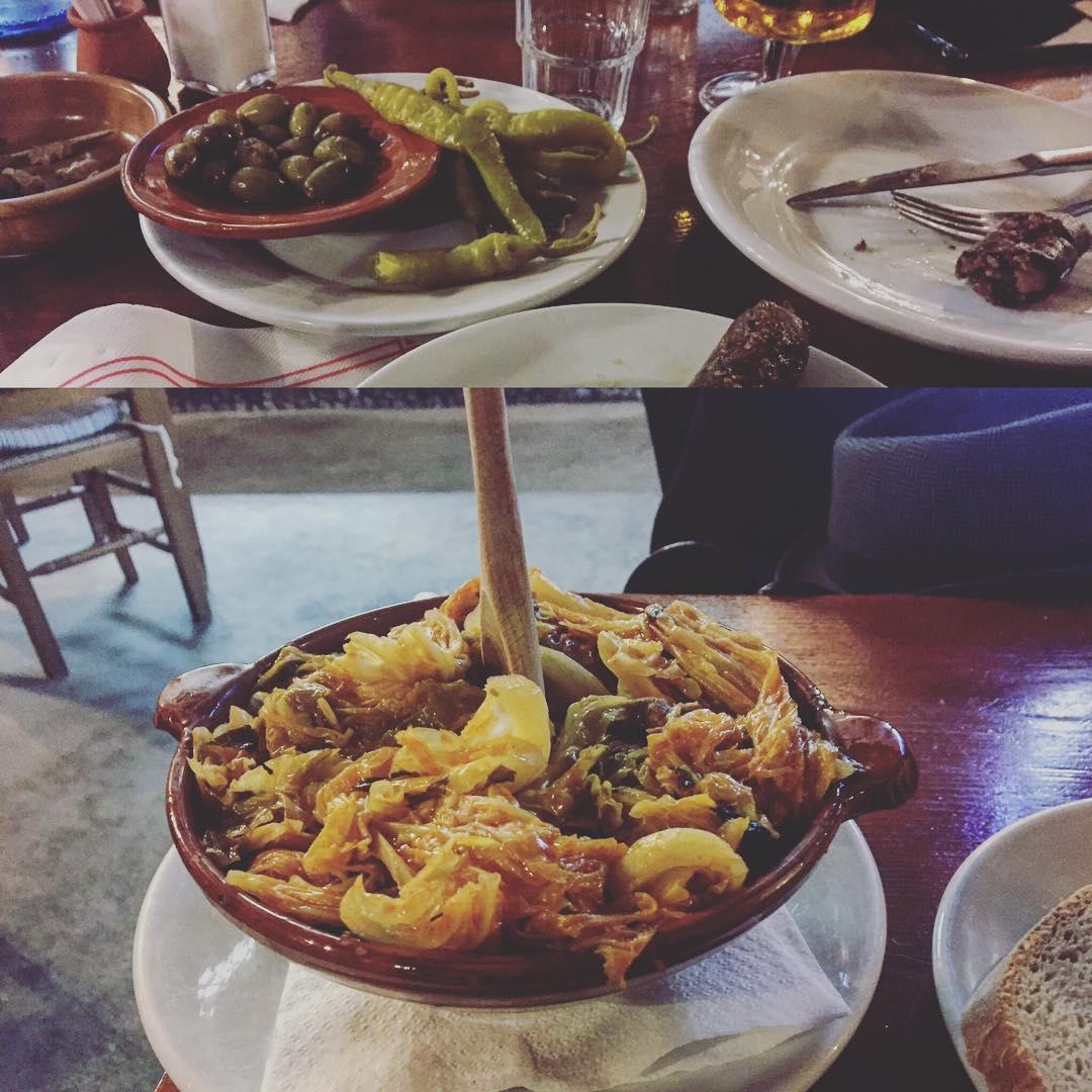 A cenar! #sopesmallorquines i #botifarrons