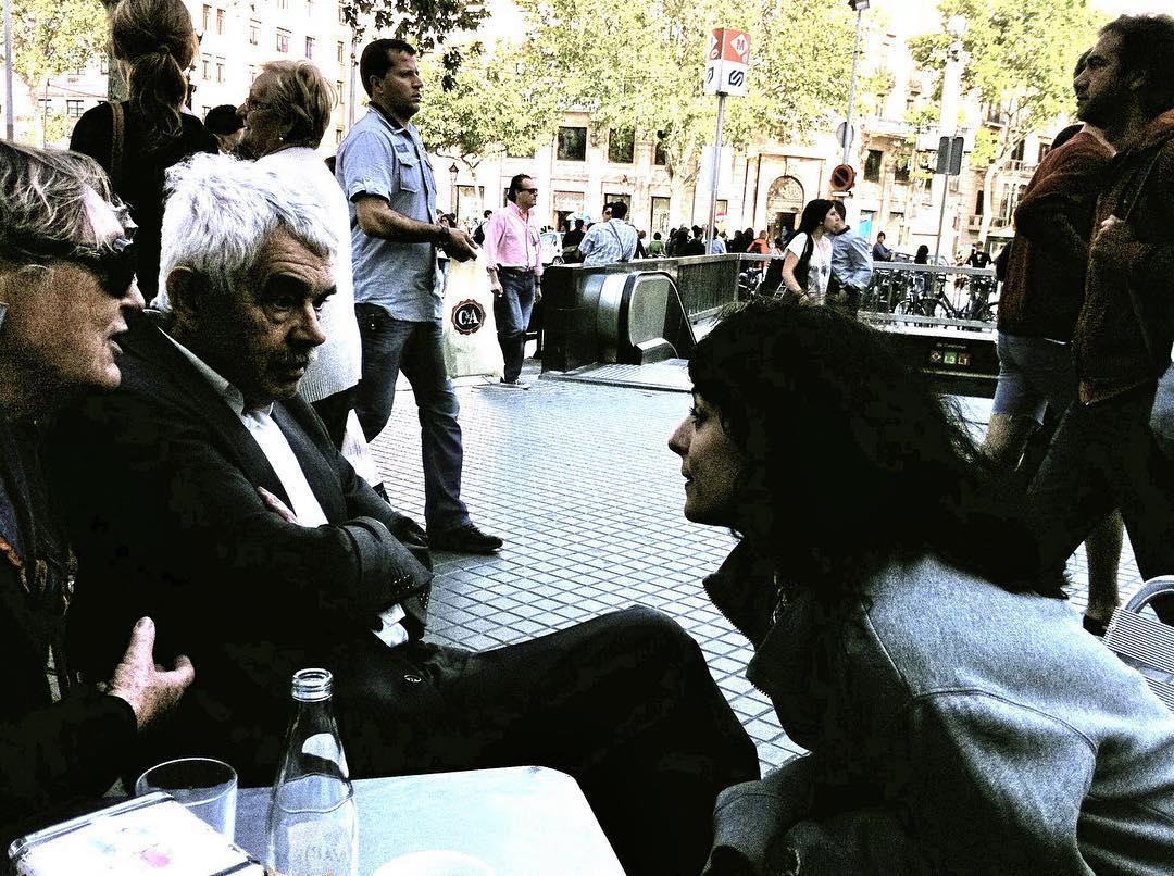 Hoy he pensado en #pasqualmaragall @cafezurichbarcelona