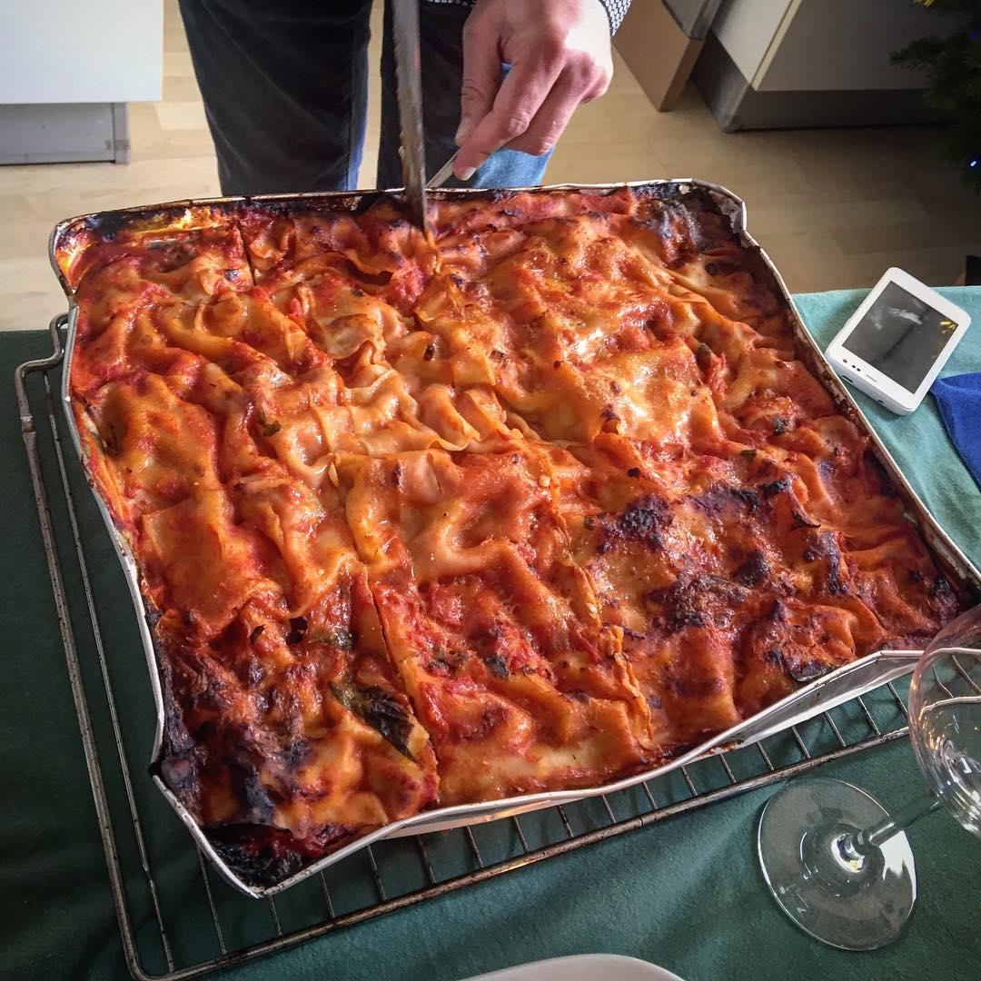 Deliziosa #lasagna de @barcellona2509 !!!