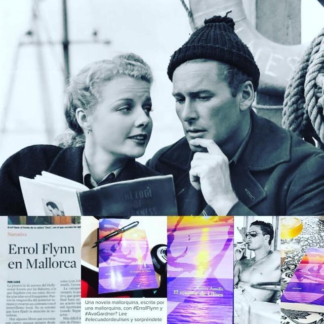 """Sonia Giménez Guzmán os cuenta su lectura de mi novela """"El ecuador de Ulises"""", sobre Errol Flynn"""