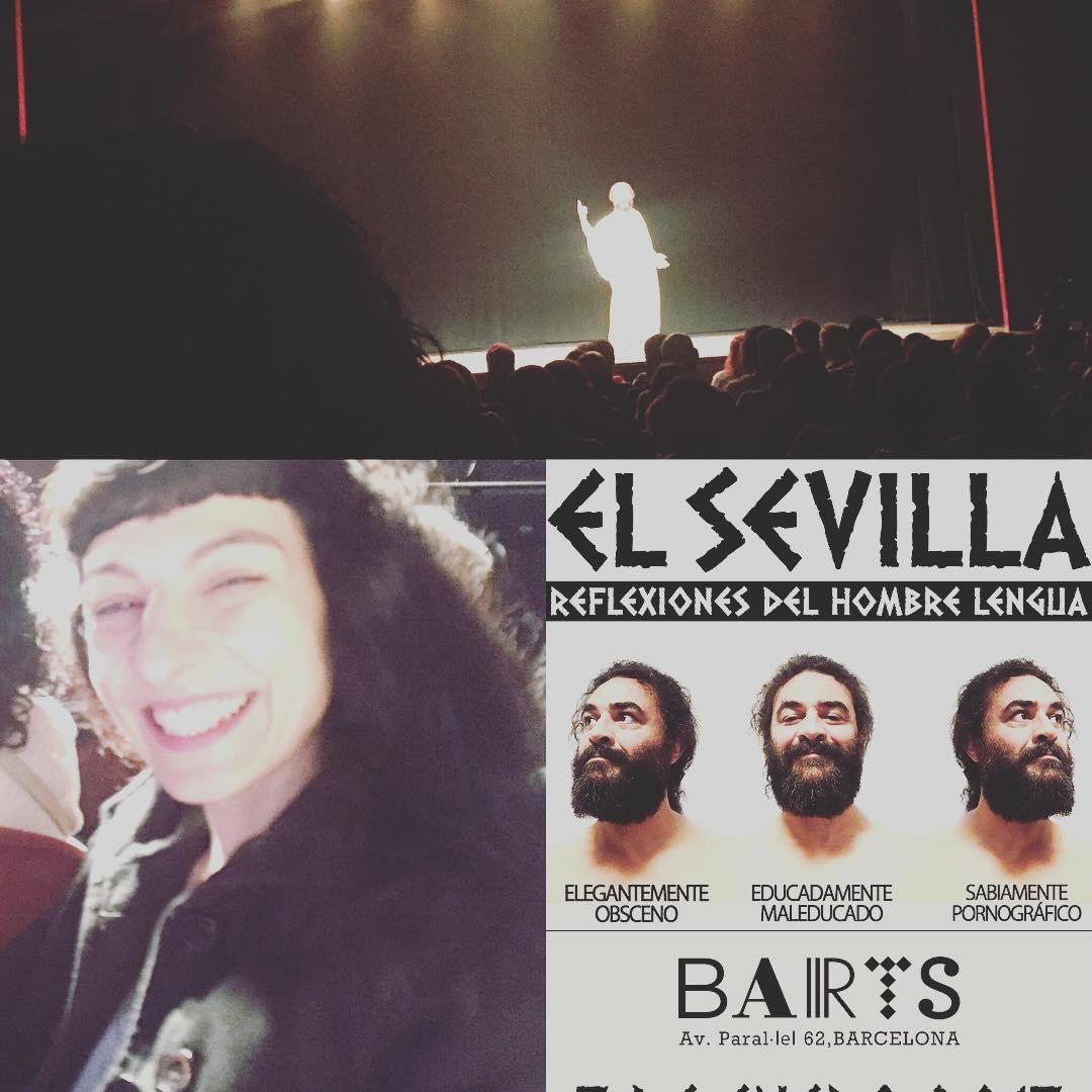Hoy 7 de enero @MiguelelSevilla nos presenta su aclamado show en la #SalaBARTS #Barcelona