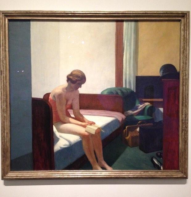 @almazorbillah Edward Hopper - Caixaforum