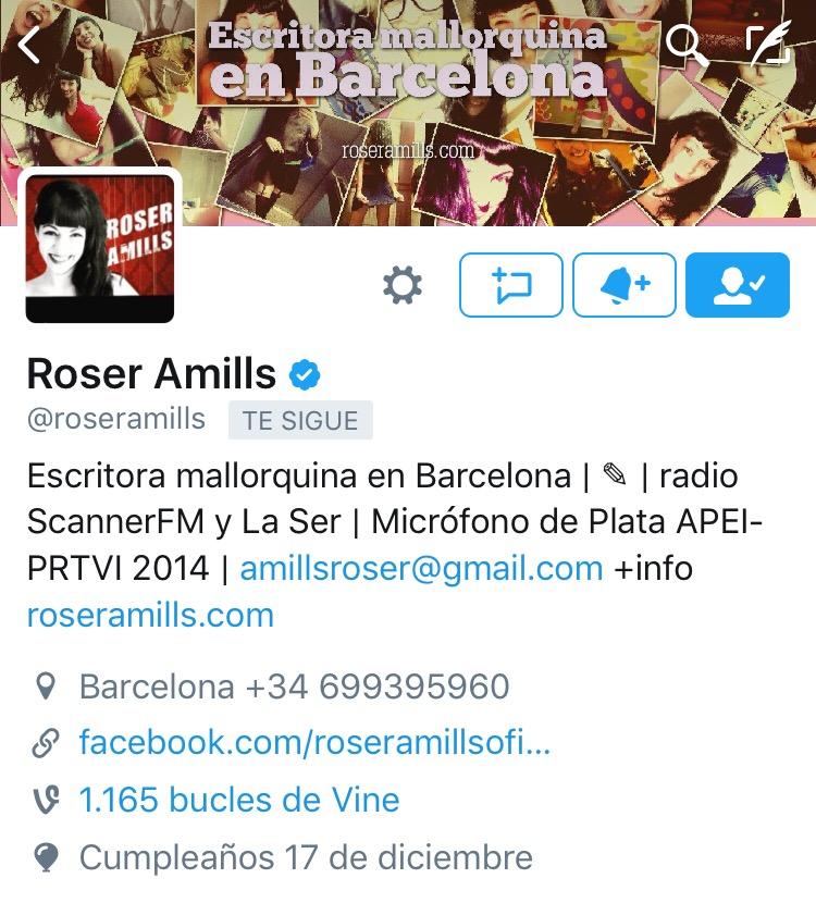 Twitter @roseramills