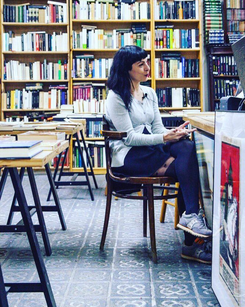 Elegí la librería Taifa (#barridegràcia ) para la entrevista de @que_piensan_las_mujeres
