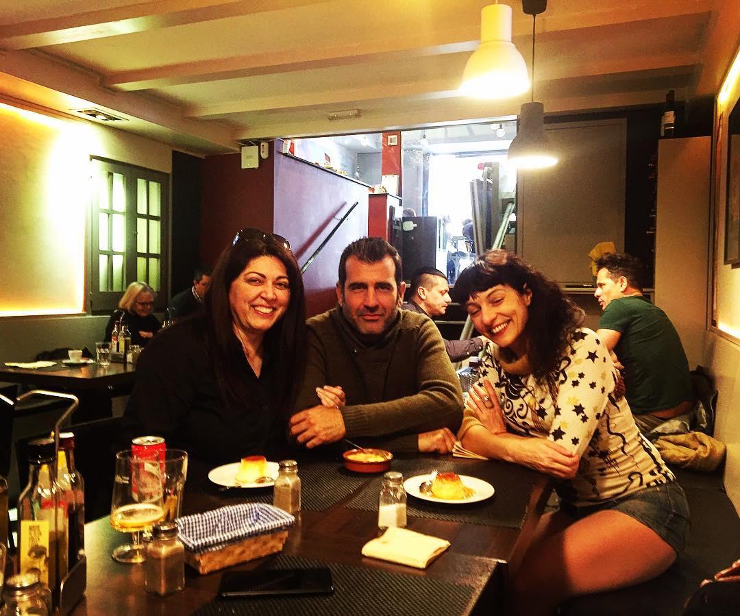Feliz comida con @bancodepruebas y @montsehcoach