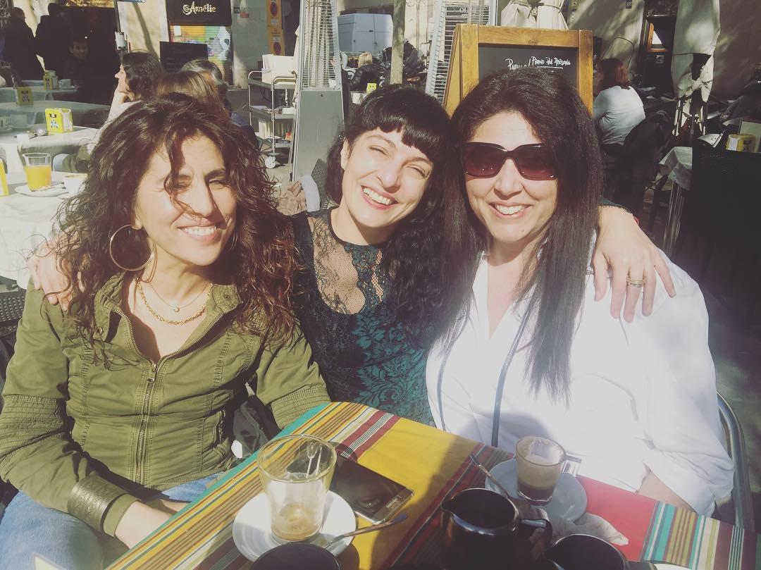 Ver a Montse Herrera y a Montse López es siempre una alegría