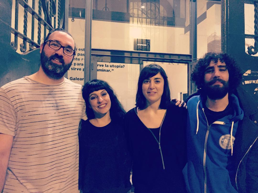 Ayer conocimos a @carla_music en el directo de @sofarbarcelona #SofarBCN #4AñosSofarBcn