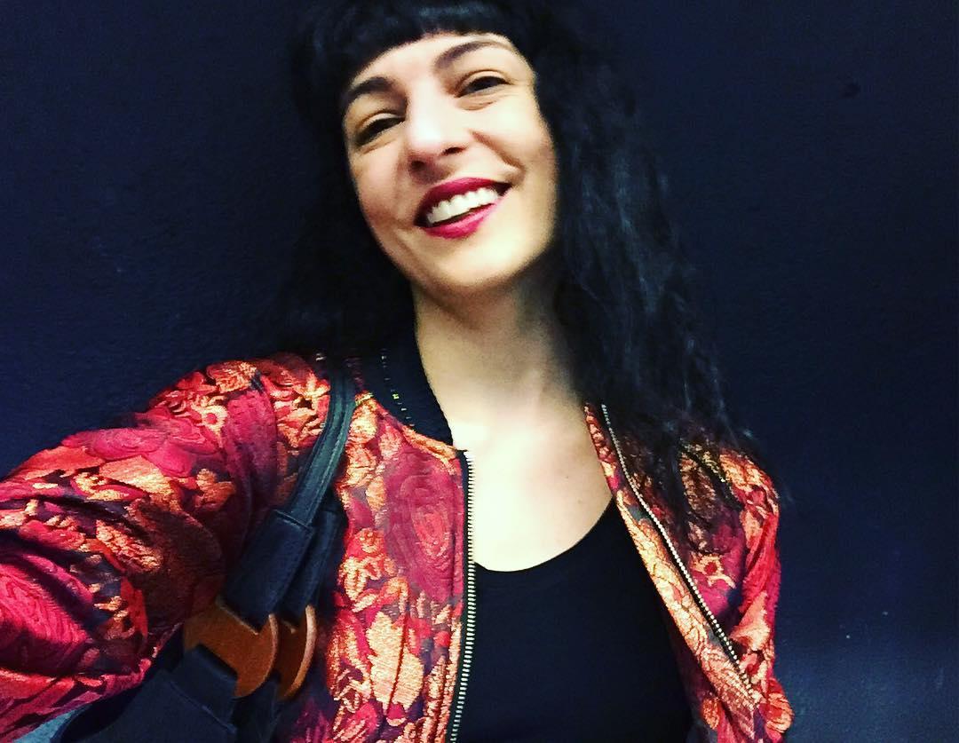 Hoy estreno chaqueta @topqueens_spain y top #Inside ;)) Os gusta?