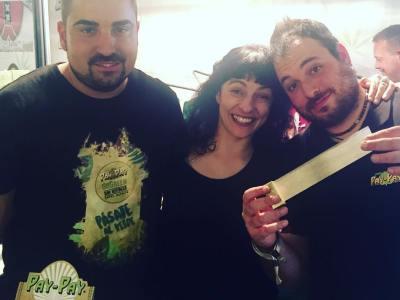 Con @paypaypaper @papel_y_mecheros que son geniales! @spannabis_official