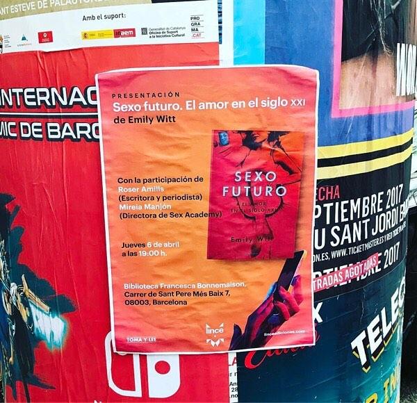 El jueves, el honor de presentar #sexofuturo, un libro importante! Lo edita @lince_ediciones