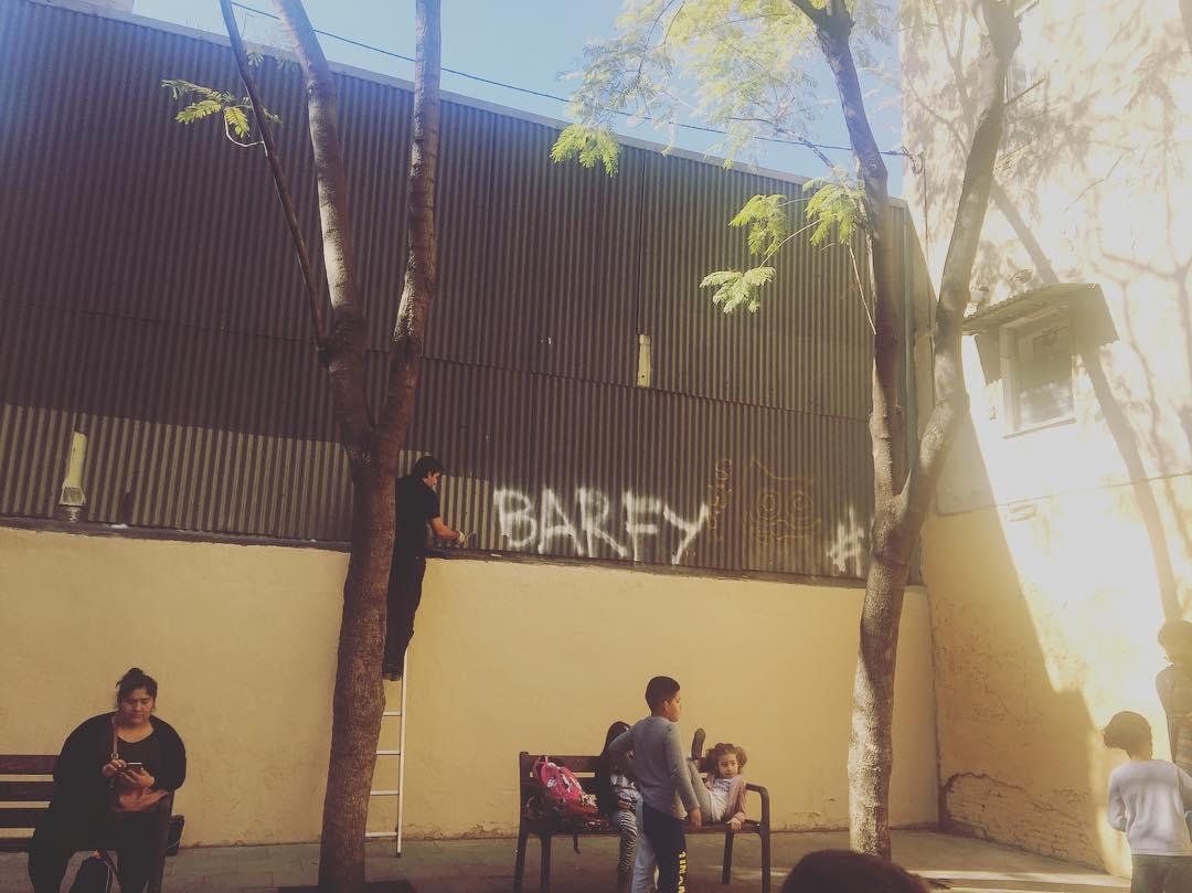Los #grafitis y @barcelona_cat tienen una historia de amor intensa y continuada :))