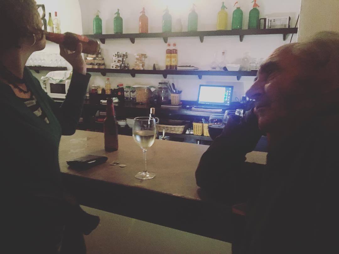 En Pau Riba medita a Bar Grog, veniu a Torrent de l'olla 134 i ens trobareu