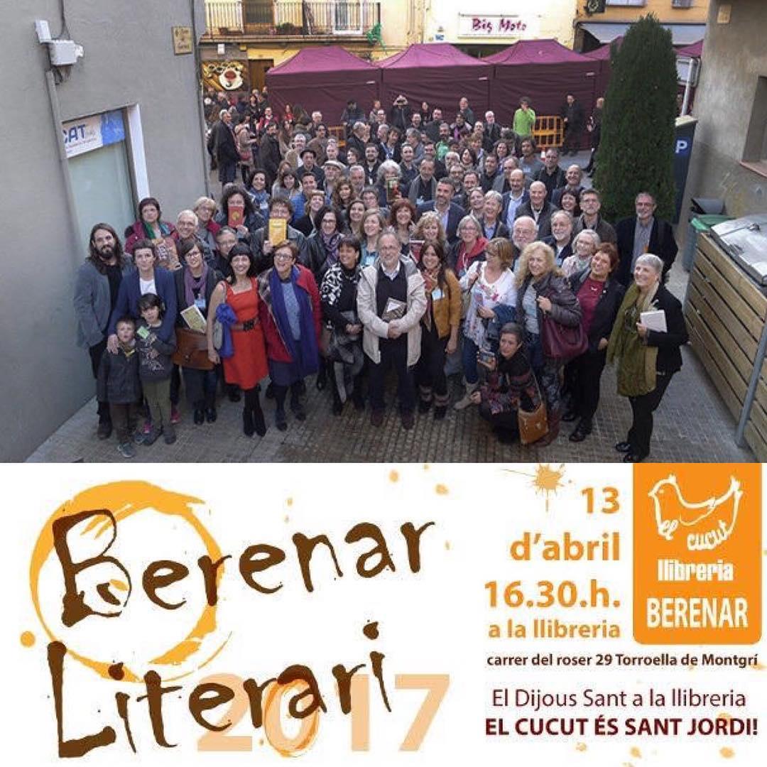 Berenar literari 2017 a la llibreria El Cucut de Torroella de Montgrí