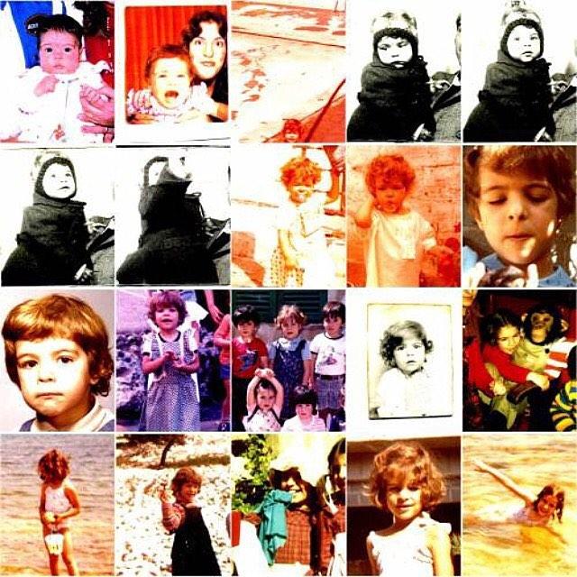 Roser Amills infancia