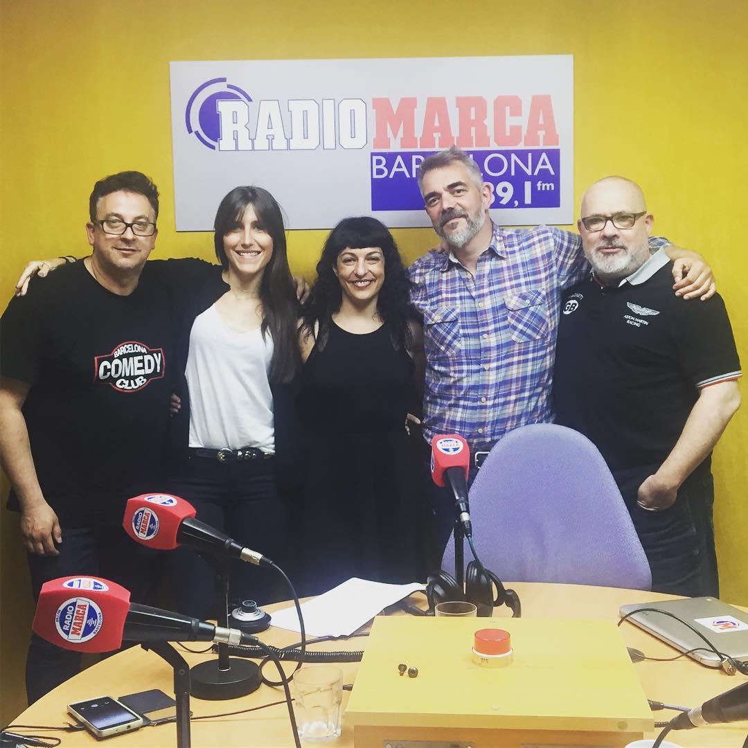 Hoy ‼️ATENTOS‼️hemos hablado en #seriadictos de @francesc_via de la serie #Love  podcast en @radiomarcabcn 89.1 
