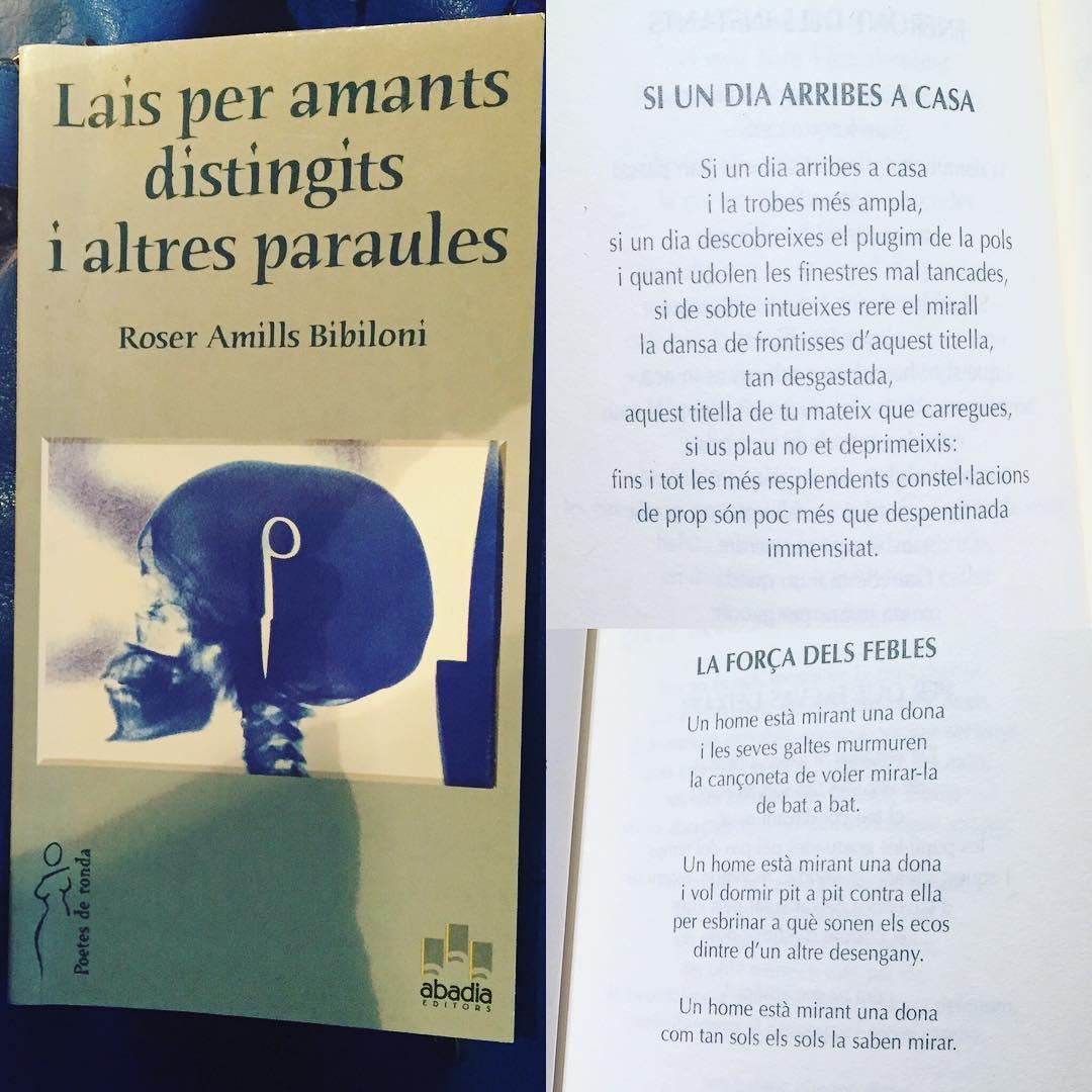 Una miqueta de poesia de #bonatarda ;)) #laisperamantsdistingits