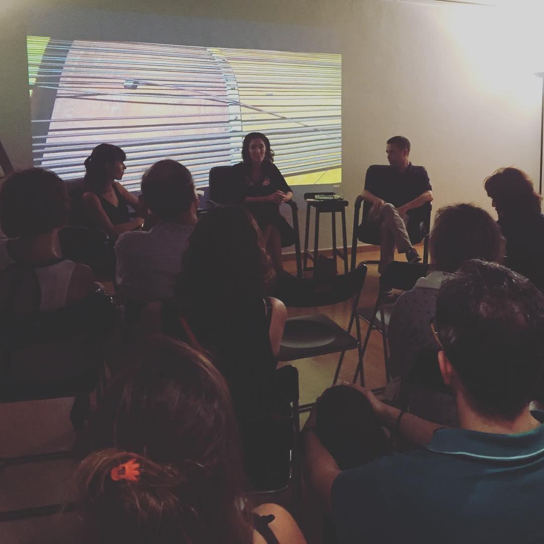 Reencuentro con #tatianagoransky #fadeout @americacatalunya