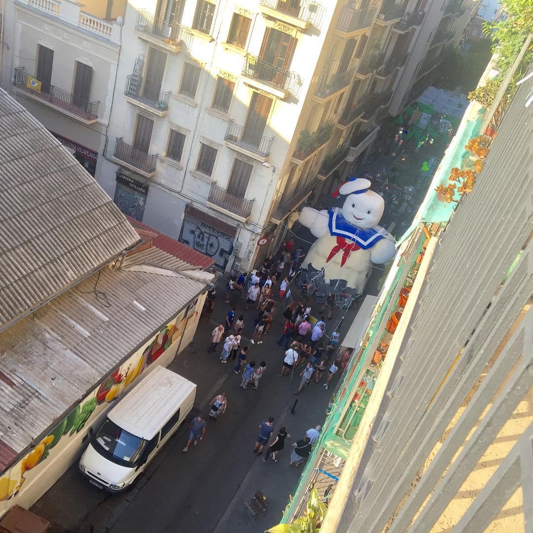 Se han suspendido todas las actividades de las #festesdegracia por el atentado de las Ramblas de #Barcelona #StopTerrorism