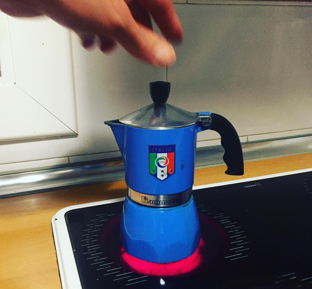 Me he tomado un café #veramenteitaliano ;))