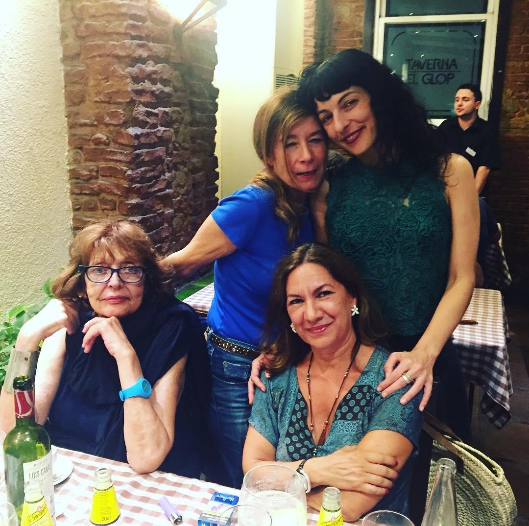 Con Cristina Fernandez Cubas, @percebesabad y Piluca Vega, tenemos química ;))