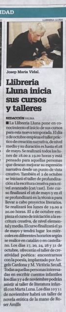 Taller d'escriptura eròtica a Palma de Mallorca