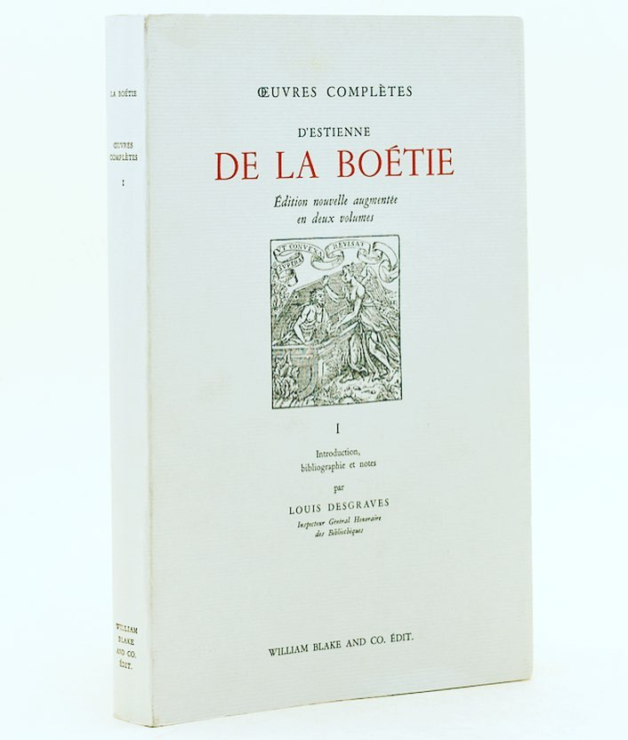 """Hoy """"Discurso de la servidumbre voluntaria"""" de Étienne de La Boétie (1530-1563) acerca de lo que obsesiona a los que aman la libertad: ¿Por qué los individuos obedecen? #CatalanReferendum"""