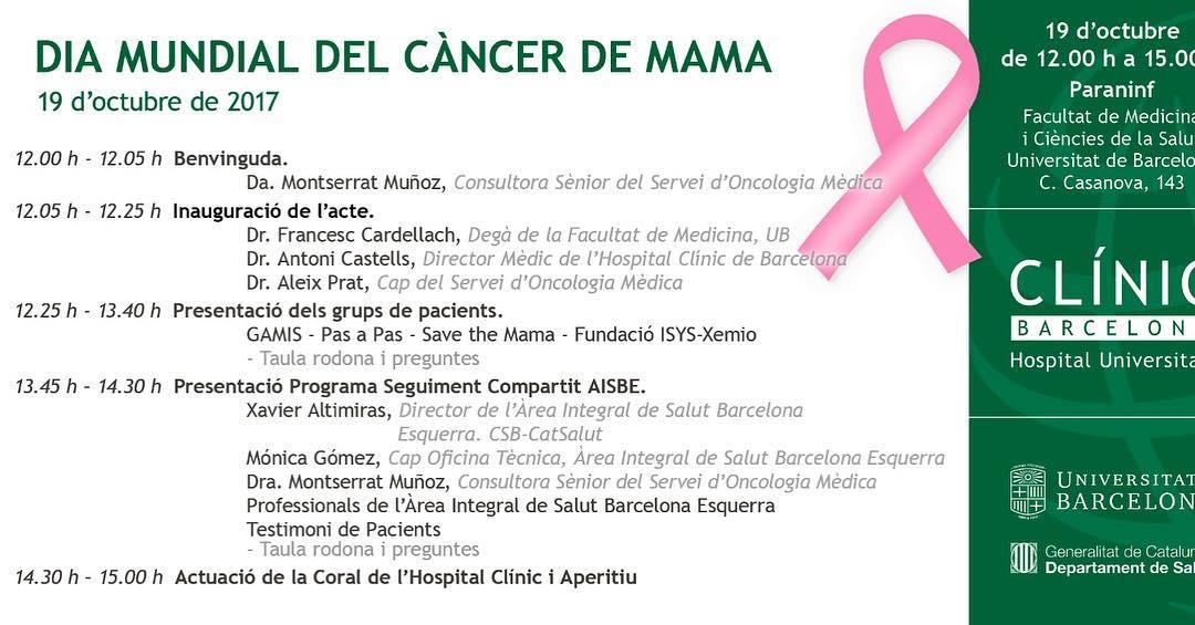 El matí de dijous serà molt important a @hospital_clinic, gràcies @patito19978 per recordar que hi anem. No hi falteu!!!