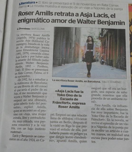 Roser Amills Ultima Hora