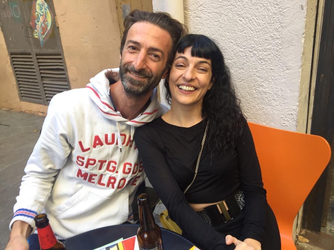 Con Emidio en @lacalders ;)) Foto de mi peque Joan