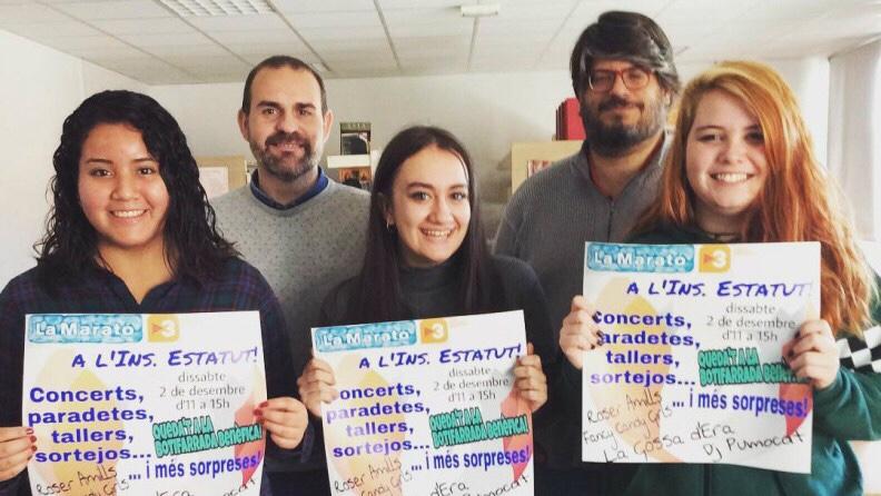 Dissabte faig el pregó a l'institut L'Estatut de la festa solidària per recaptar fons per a 'La Marató de TV3'