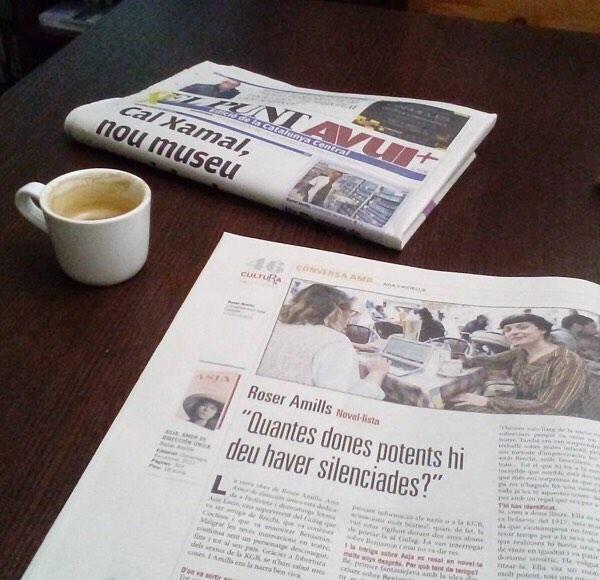 Quantes dones hi deu haver silenciades? #bondia #cafè i #diari #elpuntavui #asjalacis 😊😉