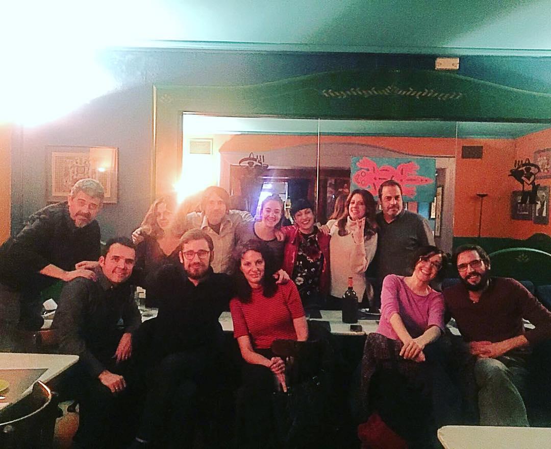 La cena de Navidad con equipo y nuestro súper jefe @goyoprados ha sido en Ay, caramba !!!