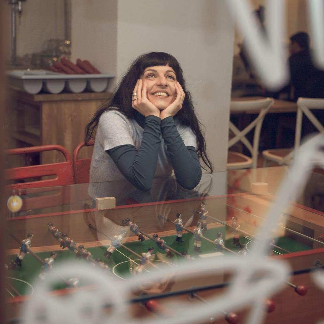 roser amills foto de @ireneserrat en @lapepatomate del #barridegracia :))