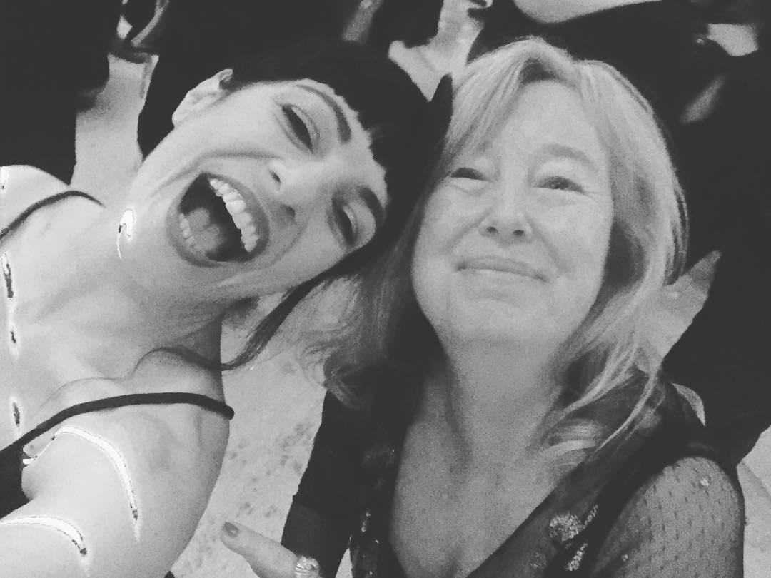 Os presento a la gran mujer de cine #martafigueras. Investigadla. Amadla. No hay más ;))