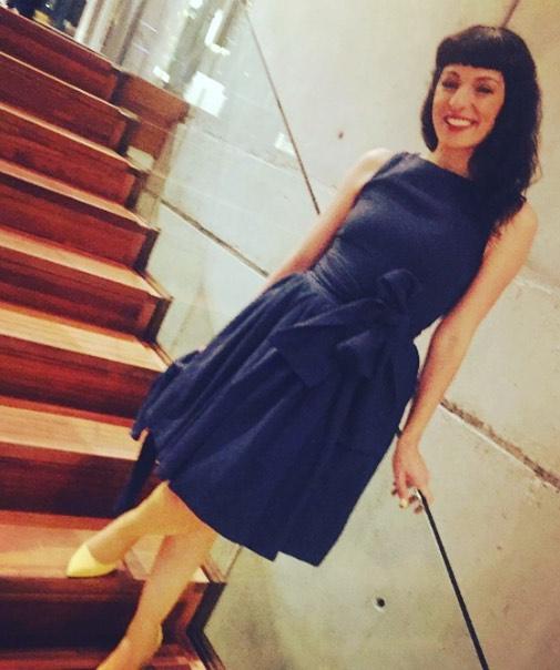 Cuánto me gusta mi vestido #chantal azul de @popisima :))